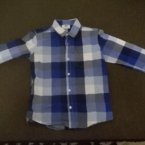Old Navy Boys long sleeve button up